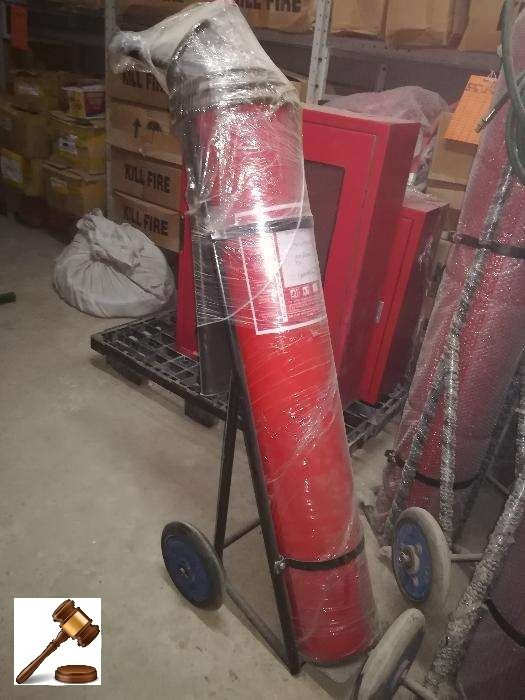 CO2 Extinguisher Trolley 22