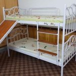 1 Bunk Bed with Mattress for Kids e1507287211486
