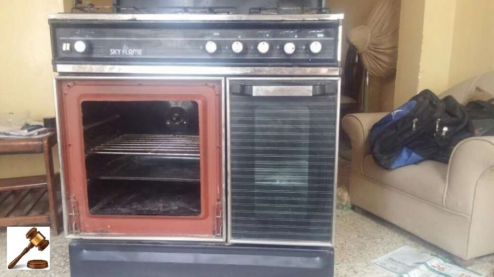 Sky Flame Gas and Electric Oven with Grills 6/10 16