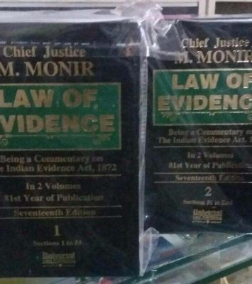1 Law of Evidence by Chief Justice M. Monir e1511329461332
