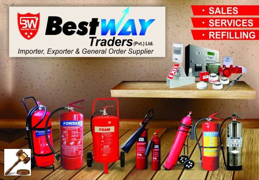 Fire Extinguisher, Fire Alarm System & Smoke Detector 19