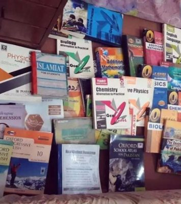 O Level Textbooks in New Condition