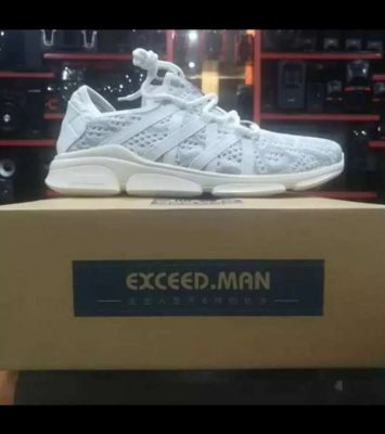1 Imported White Stylish Sneakers for Men