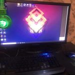 1 Core i5 Gaming Pc for Sale with Lenovo LED