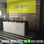 1 Can White Marble